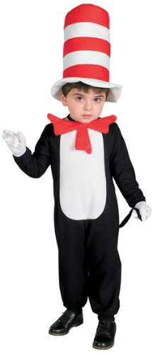 Delux (Deluxe Child Cat In The Hat Costumes)