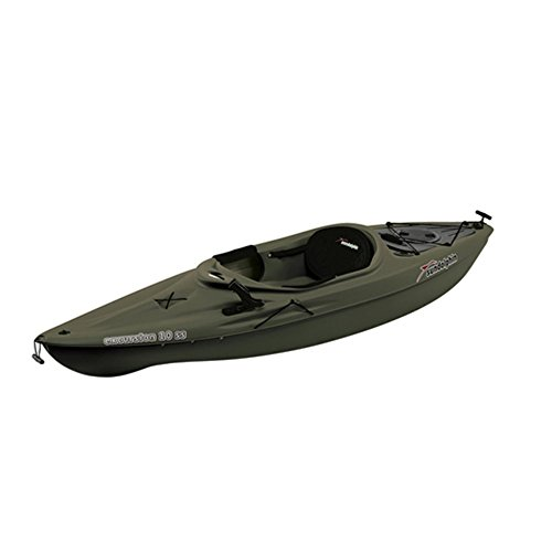 Sun-Dolphin-Excursion-SS-Sit-in-Fishing-Kayak-Olive-10-Feet