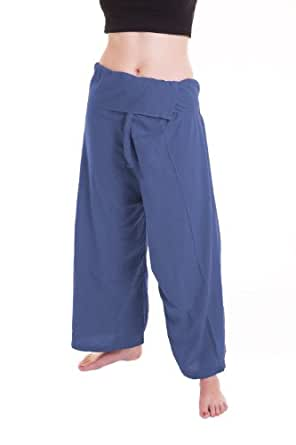 ***(Toray Cotton) Fisherman Pants Trousers Yoga Pants On Sell With Complimentary