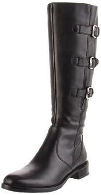 ECCO Women's Hobart Buckle Boot,Black,38 EU (US Women's 7-7.5 M)
