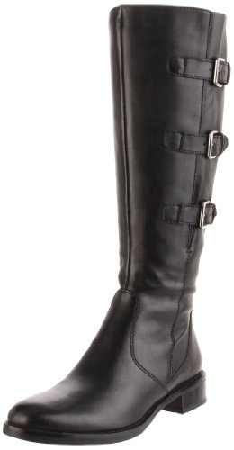 ECCO Shoes Womens Ecco Hobart 25 MM Tall Boot Boots 31041301001 Black 7.5 UK, 41 EU