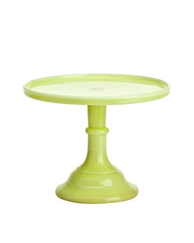 Mosser Glass 9″ Butter Cream Cake Stand