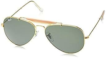 golden aviator sunglasses  Ray-Ban Aviator Sunglasses (Golden) (RB3129 W0226 58 14): Amazon ...