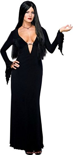 Rubies Womens Morticia Addams Family Gothic Vampire Witch Halloween Costume