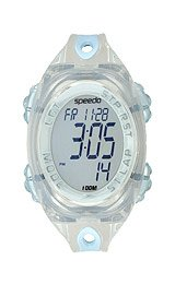Speedo Women's 50 Lap Silicone Strap Watches #SD50553BX