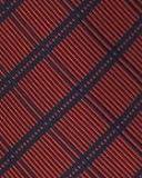 BAXBO Men's Microfiber Adjustable Clasp On Novelty Flask Tie (Hidden 8 Ounce Bladder) Stockton Red Navy