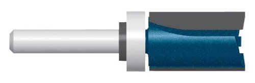 Bosch 85672M Router Bit Carbide Tip 1/2-inch  x 1 1/4-inch Straight with Top Bearing 1/4 Shank