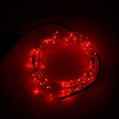 Xinyuanyang? 3W 50x0603 SMD 250lm Red LED Decoration Strip Light (DC 12V/5m) 3w 3 led red