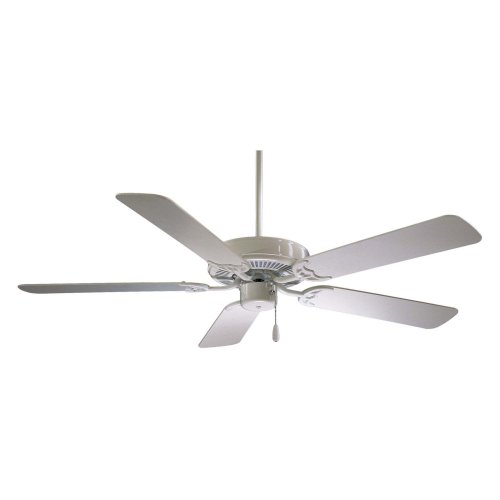 Minka Aire F547-WH Contractor 52 in. Indoor Ceiling Fan - White - ENERGY STAR