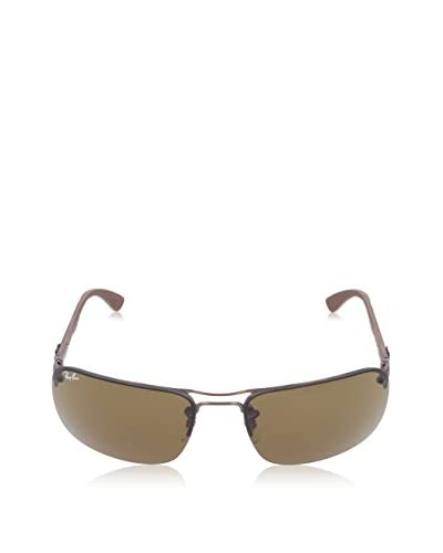 Ray Ban Sonnenbrille Carbon Fiber RB 8310 014/73 braun