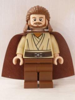 Imagen principal de LEGO Star Wars: Qui-Gon Jinn Minifigura