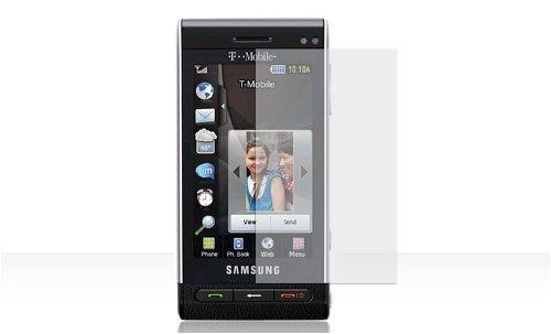 Samsung Menoir SGH-T929 Cell Phone Clear Soft PVC Screen Protective Shield