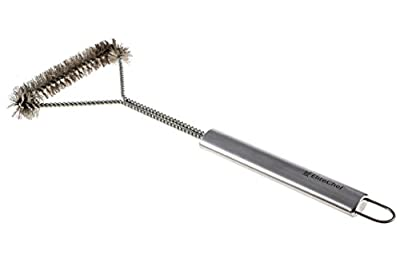 Grill Brush - Heavy-duty BBQ Grill Brush with Long Handle - Stainless Steel Bristles - A Must-have for Your Grill Accessories - 100% Money Back Guarantee!