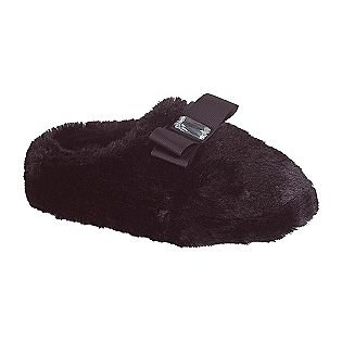 Image of Personal Identity Women's Jammies Fur Scuff Slipper, Black, Size 7 (B00809RHJ0)
