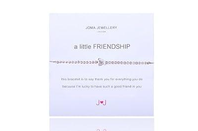 A Little Friendship Heart Bracelet By Joma Jewellery