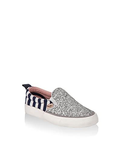 Pepe Jeans Slip-On Traveler Mix Plata