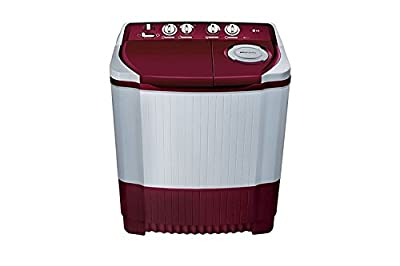 P7255R3FA Semi-automatic Washing Machine (6.2 Kg,Color Burgundy)