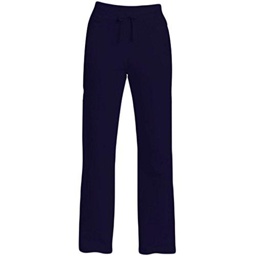 Donna Pantaloni Da Jogging Jog Pantaloni Tuta Misure 10-18 Navy Large