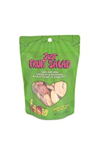 Just Tomatoes Just Fruit Salad, 2 Ounce Pouch (Pack of 4) by Just Tomatoes, Etc!