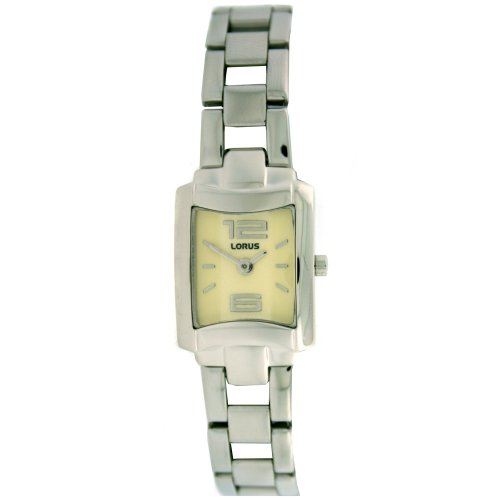 Lorus Ladies Watch Link Band Silver Tone