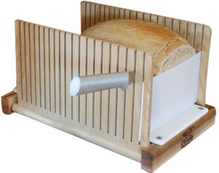 The Bread Pal Bread Slicer - The Original Foldable Slicer