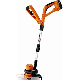 Worx GT WG150.1 10-Inch 18-Volt Cordless Electric String Trimmer/Edger With Two Batteries