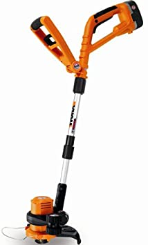 WORX GT WG150.2 10-Inch 18 Volt Cordless Electric String Trimmer/Edger With Two Batteries