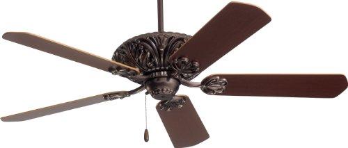 Emerson Cf935Orb Zurich Indoor Ceiling Fan, 52-Inch Blade Span, Oil Rubbed Bronze Finish And Dark Cherry/Medium Oak Blades