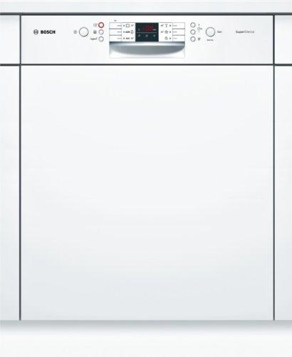 Bosch SMI53M42EU lave-vaisselle - laves-vaisselles (Entièrement intégré, A, A++, Blanc, boutons, LED)
