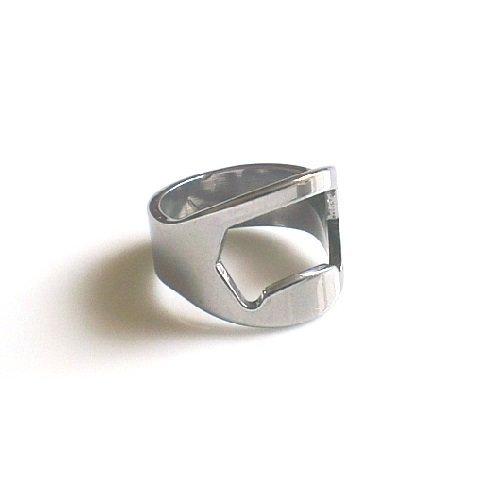 Stainless Steel Ring Bottle Opener (U) by SUK