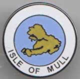 Isle of Mull Scotland Pin Badge