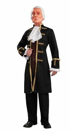 Amazon.com: Forum George Washington Mask Costume, Brown