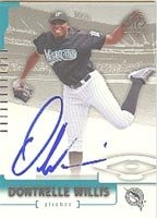 Dontrelle Willis Florida Marlins 2004 SP Authentic Autographed Hand Signed Trading... by Hall+of+Fame+Memorabilia