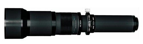 Rokinon 650-1300-Mm Super Telephoto Zoom Lens For Canon T1I, Xsi, Xs, Xti, Xt, 50D, 40D, 30D, 20D, 10D, 7D & 5D Digital Slr Cameras