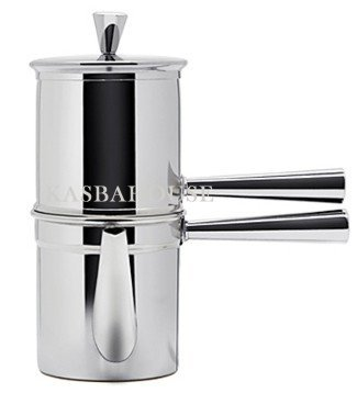 How to Ilsa - Neapolitan Coffee Maker 6 Cup Size - Stainless Steel - Made in Italy - Shopping