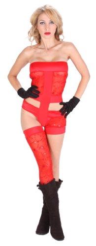 Lady Red Romance Halloween Costume