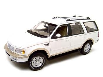 Buy FORD EXPEDITION EDDIE BAUER EDITION WHITE 1:18 MODEL