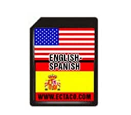 Ectaco SD C-4 ES SD Card English-Spanish