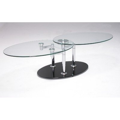 Oval Glass Coffee Table Grand Sales Cota 71 Two Tier Swivel Coffee Table