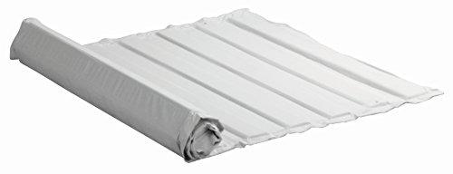 lit réseau W 90, L 200 cm. Barres de hêtre massif en coton