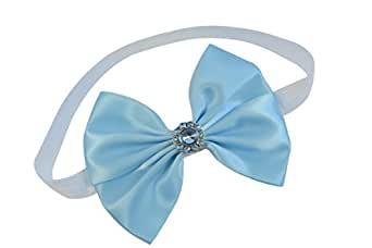 Baby and Toddler Girls Cinderella Inspired Sparkling Glitter Bow Headband