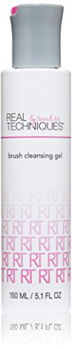 Real Techniques Deep Cleansing Gel Brush Cleaner, 5.099 Fluid Ounce (Organic Makeup Brush Cleaner compare prices)