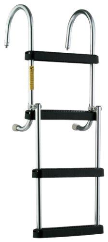 Garelick/EEz-In 12350:01 Marine Removable Folding Pontoon Boarding Ladder