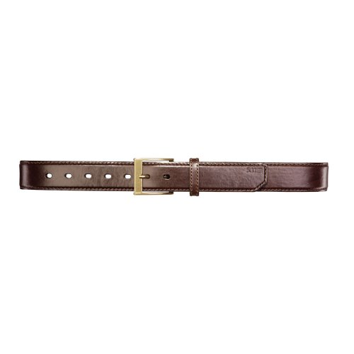 5.11 Tactical #59501 1.5-Inch Leather Casual Belt (Classic Brown, Large)