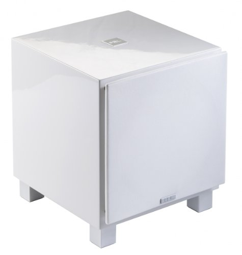 "Rel - T-7 - 8"" Powered Subwoofer High Gloss White"