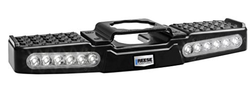 Cheapest Price! Reese Towpower 7065300 Lighted LED Hitch Step