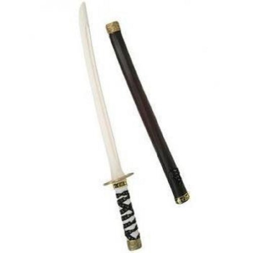 24 Inches Costume Accessory Toy Ninja Samurai Sword & Sheath