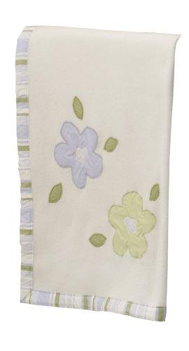 Sumersault Lauren Blanket - Lilac and Sage