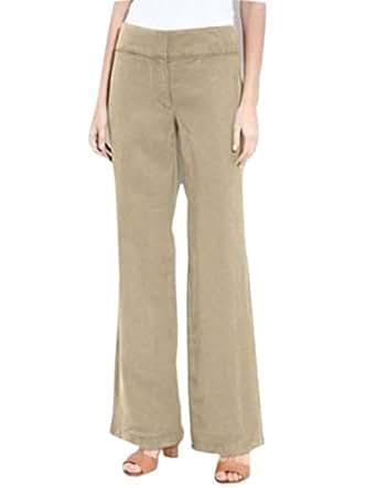 Simple  REPUBLIC STRETCH TAN BROWN KHAKI DRESS PANTS WOMENS SIZE 10  EBay
