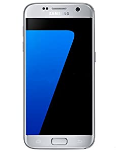 Samsung Galaxy S7 32 GB Unlocked Phone - G930F Single SIM - Titanium Silver (International Version - No Warranty)